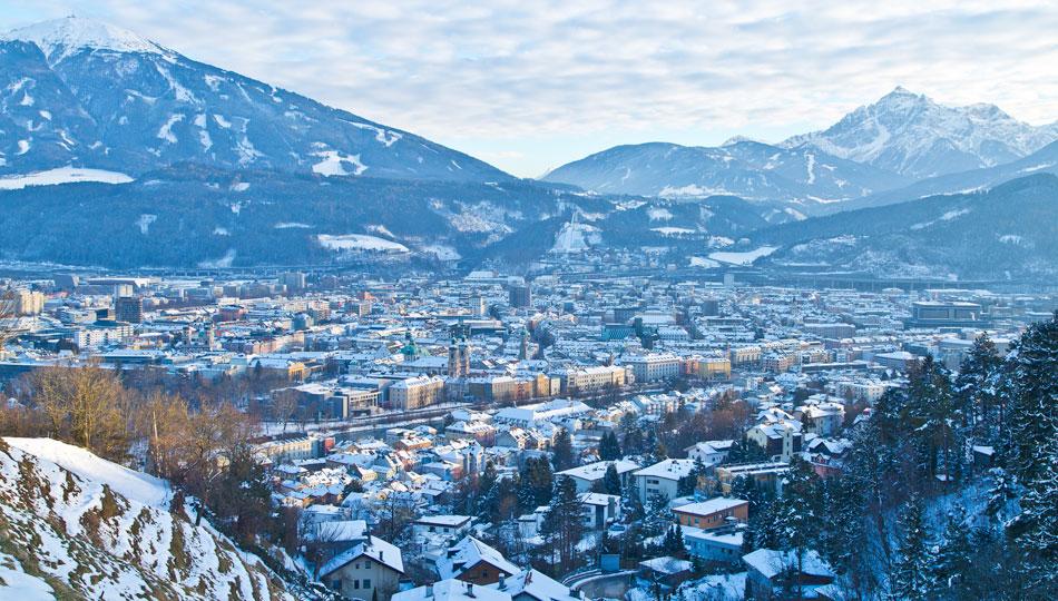 [Translate to Englisch:] Winter in Innsbruck