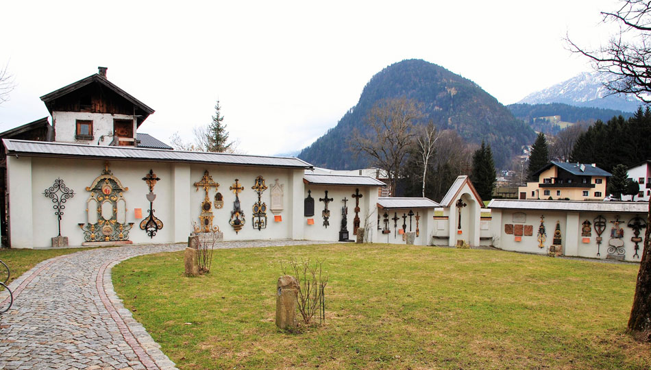 Museumsfriedhof in Kramsach